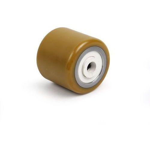 Unbekannt Rolka widłowa, poliuretan, dł. mocowania 77 mm. z poliuretanu, z metalowym rdzen