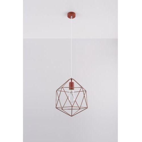 Sollux - Lampa wisząca Gaspare - miedziana, kolor Miedziany