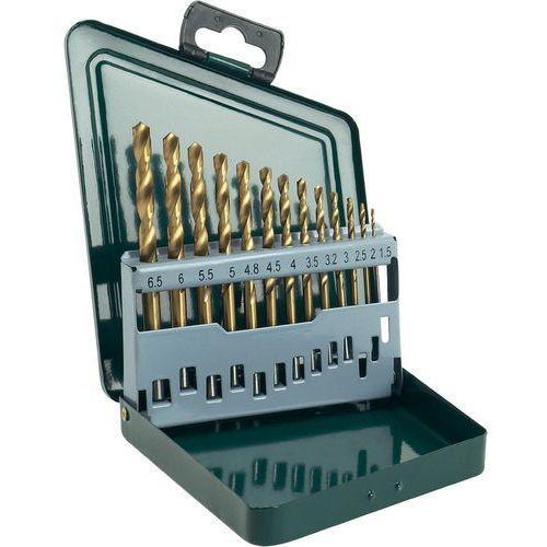 Zestaw wierteł do metalu BOSCH HSS-R Titanium 1.5-6.5 mm (13 elementów) + Zamów z DOSTAWĄ JUTRO! (3165140415545)