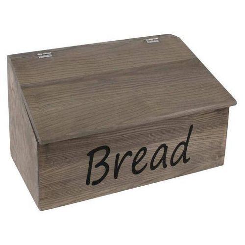 Drewniane pudełko na pieczywo | 350x200x(h)220mm marki Olympia