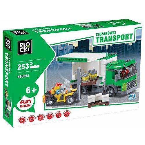 Klocki Blocki Transport Ciężarówki 253 elementy
