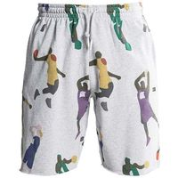 K1x Szorty - superhero sweat shorts light grey heather (8855)