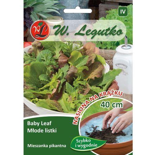 Legutko Baby leaf - młode listki mieszanka pikantna krążek 1 szt. 40cm