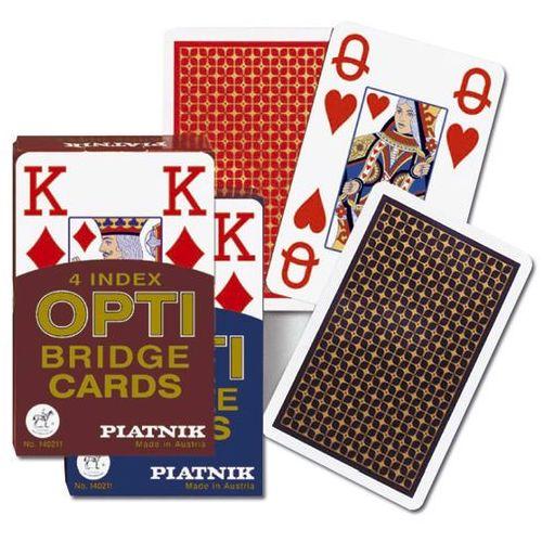 Karty brydżowe 1402 opti – bridge 4 index marki Wydawnictwo magdalena jassem