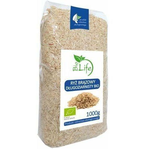BIOLIFE 1kg Ryż brązowy długoziarnisty Bio (5901785340839)