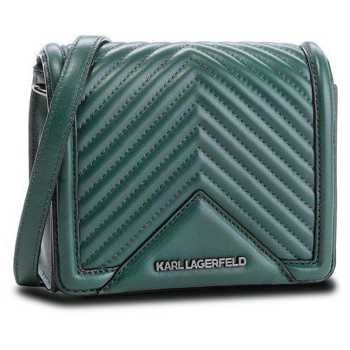 Torebka KARL LAGERFELD - 86KW3021 Dark Emerald 608, kolor zielony