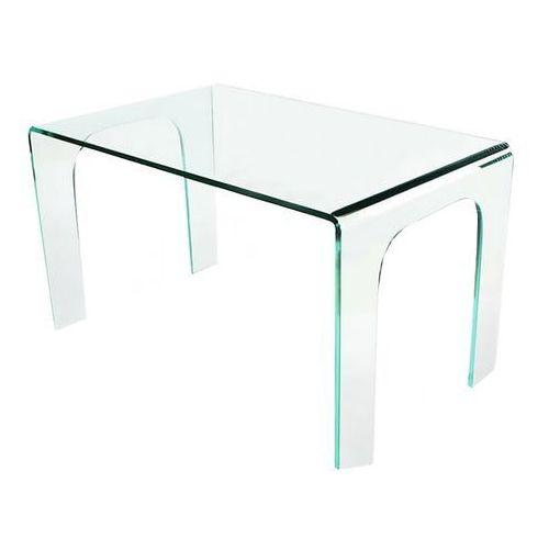 King home Stół szklany moderno - szkło transparentne