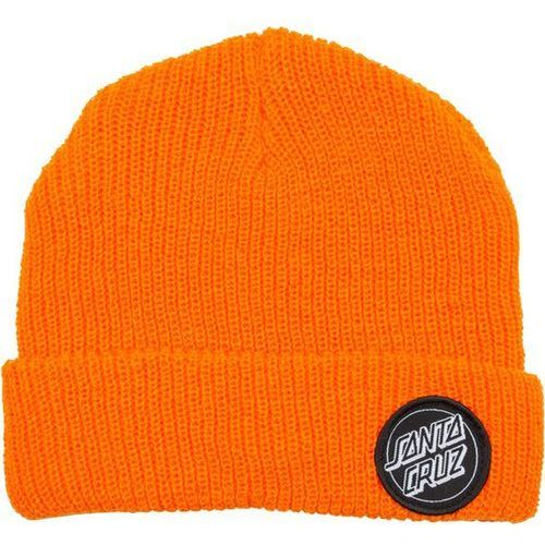 Czapka zimowa - outline dot beanie hazard orange (hazard orange) rozmiar: os marki Santa cruz