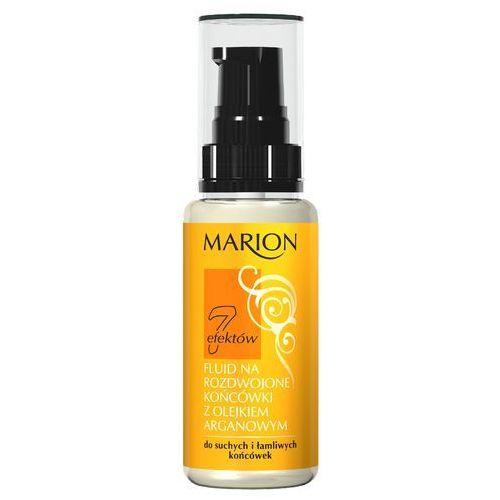 , 7 efektów. fluid na rozdwojone końcówki z olejkiem arganowym, 50ml - marion od 24,99zł darmowa dostawa kiosk ruchu marki Marion