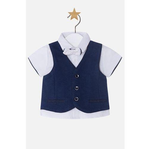 Mayoral - Koszula dziecięca + kamizelka + mucha 65-80 cm