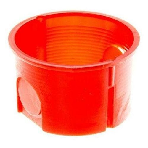 Puszka podtynkowa 60 zwykła płytka 0281-00 pomarańczowa elektro-plast marki Elektro-plast nasielsk