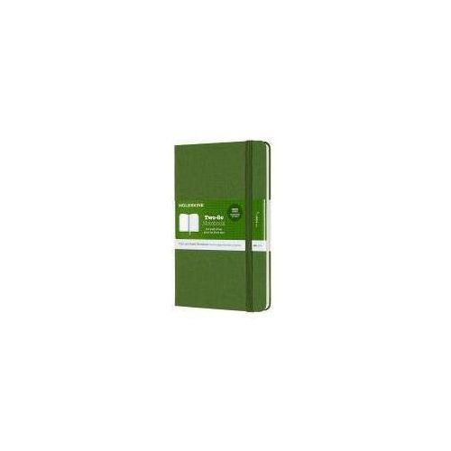 Notes linia tw. TWO-GO, grass green MOLESKINE (8058647620190)
