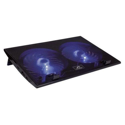 Podstawka chłodząca TRACER do laptopa 17 Tornado Czarny