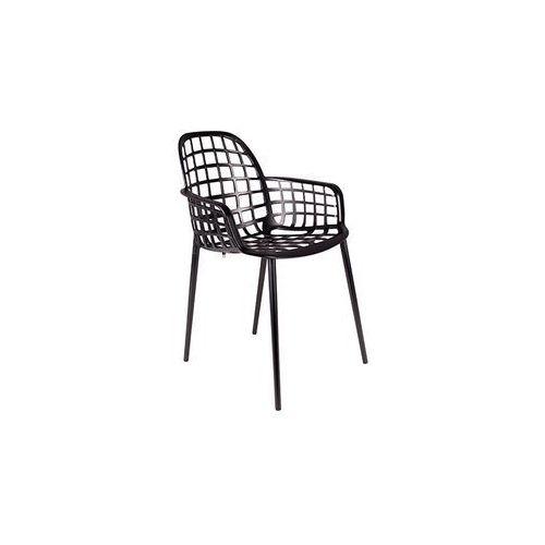 Zuiver Krzesło ogrodowe Albert Kuip czarne 1200170, 1200170