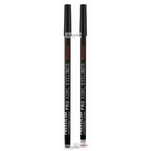 Freedom  - pro kohl eyeliner duo - zestaw dwóch eyelinerów w kredce - black and brighten