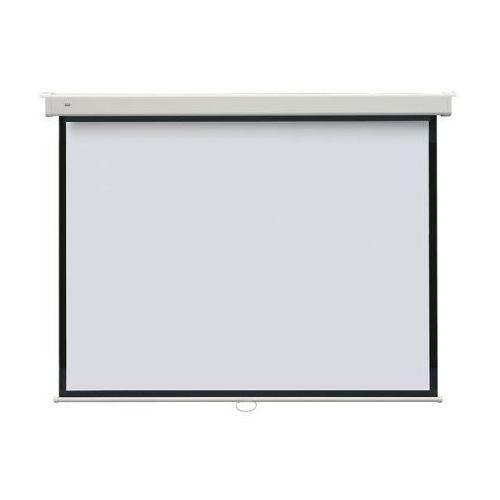 Ekran projekcyjny manualny PROFI 240x240 - ścienny / sufitowy
