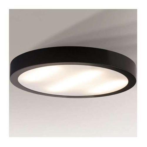 Shilo Plafon lampa sufitowa nomi 1149/2g11/cz okrągła oprawa minimalistyczna czarna