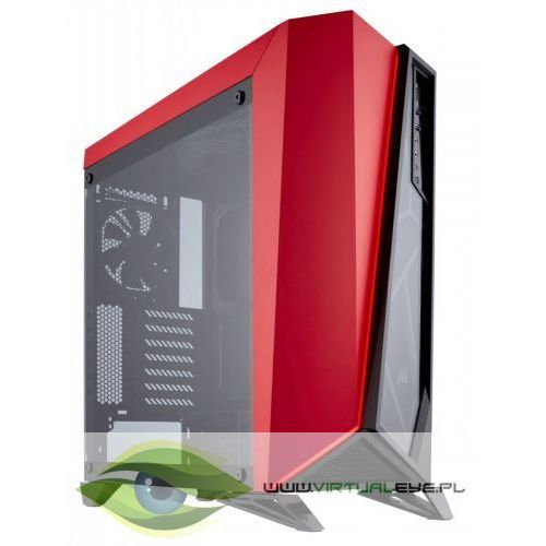 Corsair CARBIDE SERIES SPEC-OMEGA ATX Mid-Tower, Black/Red (0843591062152)