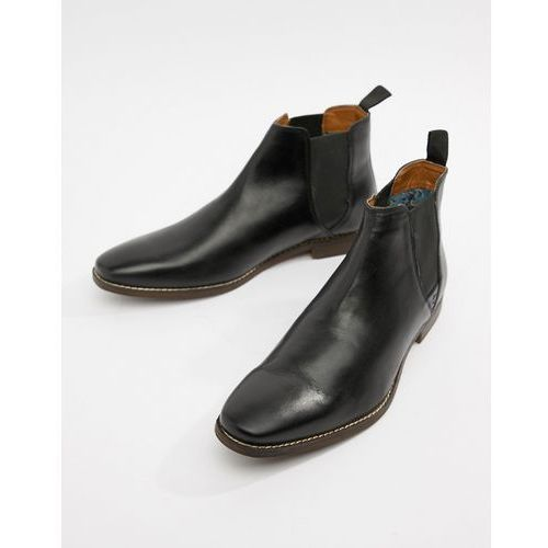 tapton chelsea boots in black - black marki Red tape