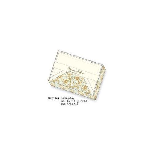 Papeteria box 10 kartek i 10 kopert BSC 514 - ROSSI