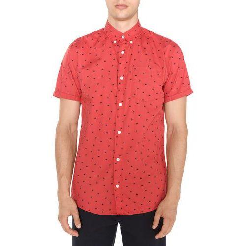 Jack & Jones Cambridge Koszula Czerwony L, kolor czerwony