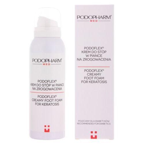 podoflex creamy foot foam for keratosis krem do stóp w piance na zrogowacenia marki Podopharm