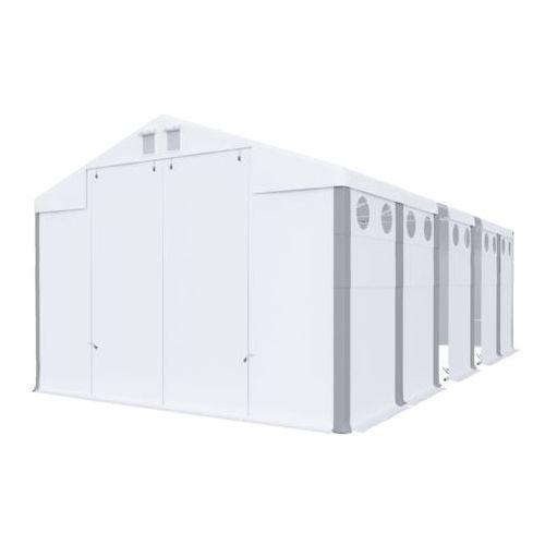 Namiot 6x14x4, całoroczny namiot przemysłowy, polar plus/fr 84m2 - 6m x 14m x 4m marki Das