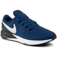 Buty - air zoom structure 22 aa1636 406 coastal blue/chrome black, Nike, 40-46