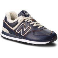 Sneakersy NEW BALANCE - ML574WNF Granatowy, w 9 rozmiarach