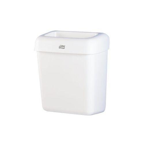Kosz na śmieci 20 litrów Tork plastik biały, 226100