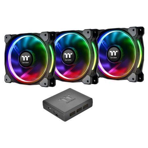 Thermaltake Riing Plus 12 LED RGB, 3 sztuki (CL-F053-PL12SW-A) Darmowy odbiór w 21 miastach!, CL-F053-PL12SW-A