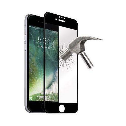 Puro Premium Full Edge Tempered Glass - Szkło ochronne hartowane na ekran iPhone 7 / iPhone 6s / iPhone 6 (czarna ramka) (8033830192944)