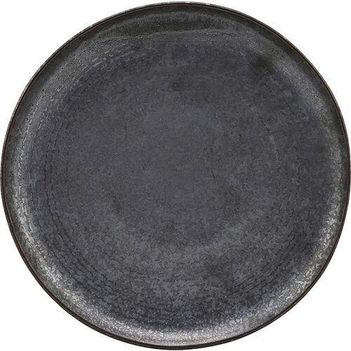Talerz śniadaniowy pion czarno-brązowy (5707644719880)
