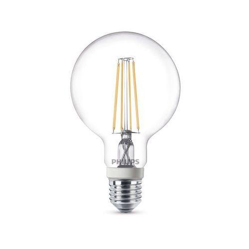 Żarówka LED Philips 8718696575413, 7 W = 60 W, 806 lm, 2700 K, ciepła biel, 230 V, 15000 h, 929001229001