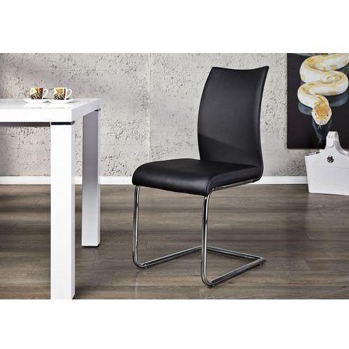 Krzesło porto - czarne - czarne marki Interior