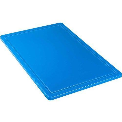 Deska z polipropylenu haccp niebieska marki Stalgast