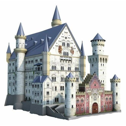 Puzzle 3d 216 elementów - zamek neuschwanstein marki Ravensburger