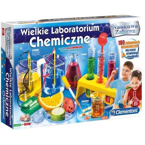 Wielkie laboratorium chemiczne - marki Clementoni