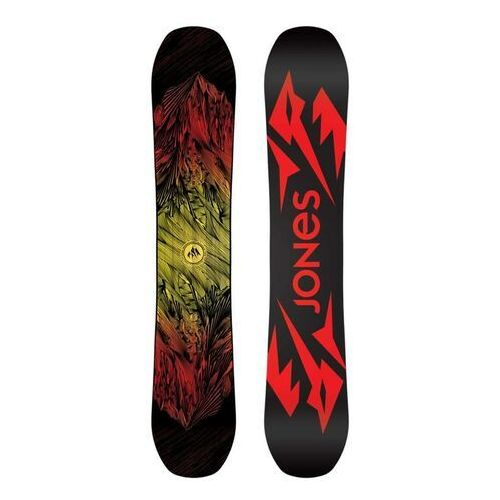 Snowboard - snb mountain twin multi 158w (multi) rozmiar: 158w marki Jones