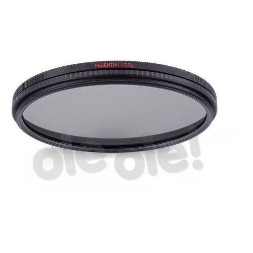 Filtr Manfrotto Essential circular Pol 77 mm (MFESSCPL-77) Darmowy odbiór w 20 miastach!