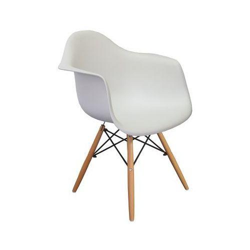 Krzesło Nicea Białe, kolor biały