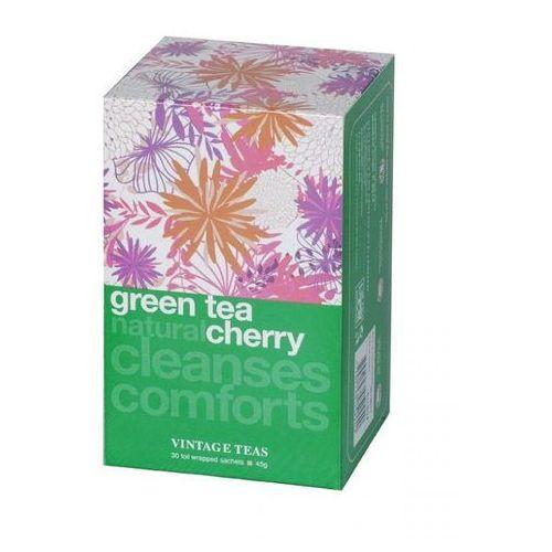 Zielona herbata Vintage Teas z aromatem wiśni - 30x1,5g