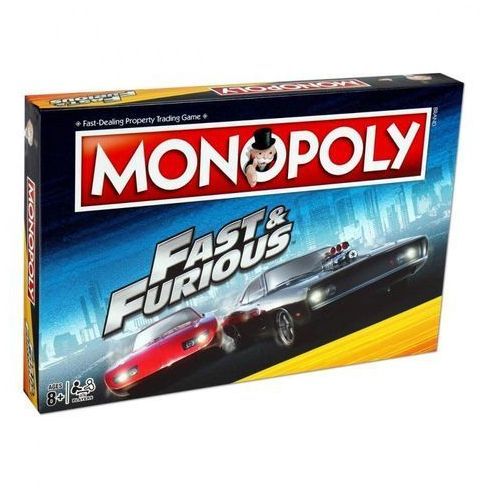 Monopoly fast and furious marki Winning moves