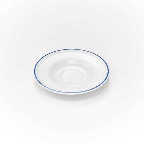 Spodek pod filiżankę porcelanową KONESER - śr. 14,5 cm