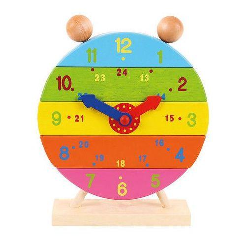 Zegar warstwowy - pionowa układanka marki Bigjigs toys