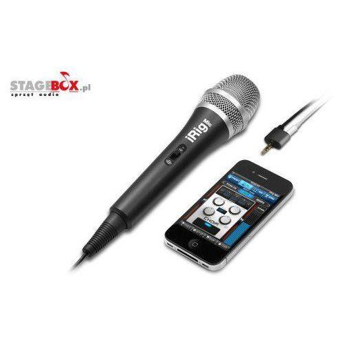 IK iRig Mic mikrofon pojemnościowy iOS Android