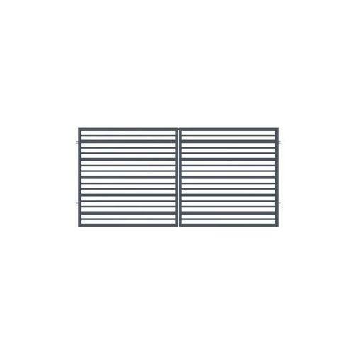 Brama dwuskrzydłowa RUBIN 300 x 150 cm POLARGOS (5902360122567)