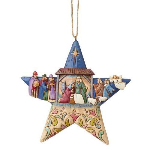 Jim shore Gwiazda zawieszka szopka nativity star ornament 6003340 figurka ozdoba świąteczna
