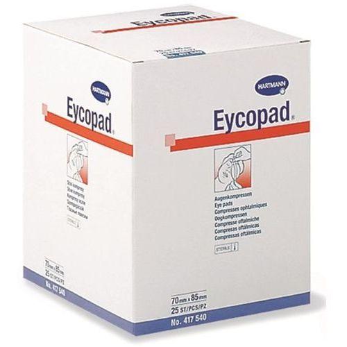 Opatrunek oczny EYCOPAD 70 cm x 85 cm, jałowy, 25 szt., HAR-EYC-7085