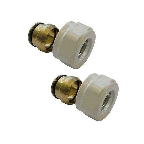 złączka zaciskowa do rury z miedzi biała gw m22x1,5 - 15x1 marki Alterna